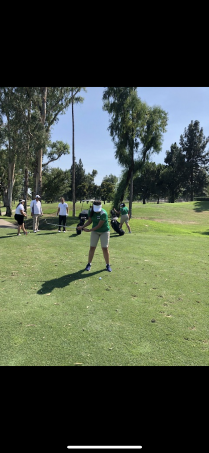 Girls' Golf Team Tees off for its First Year