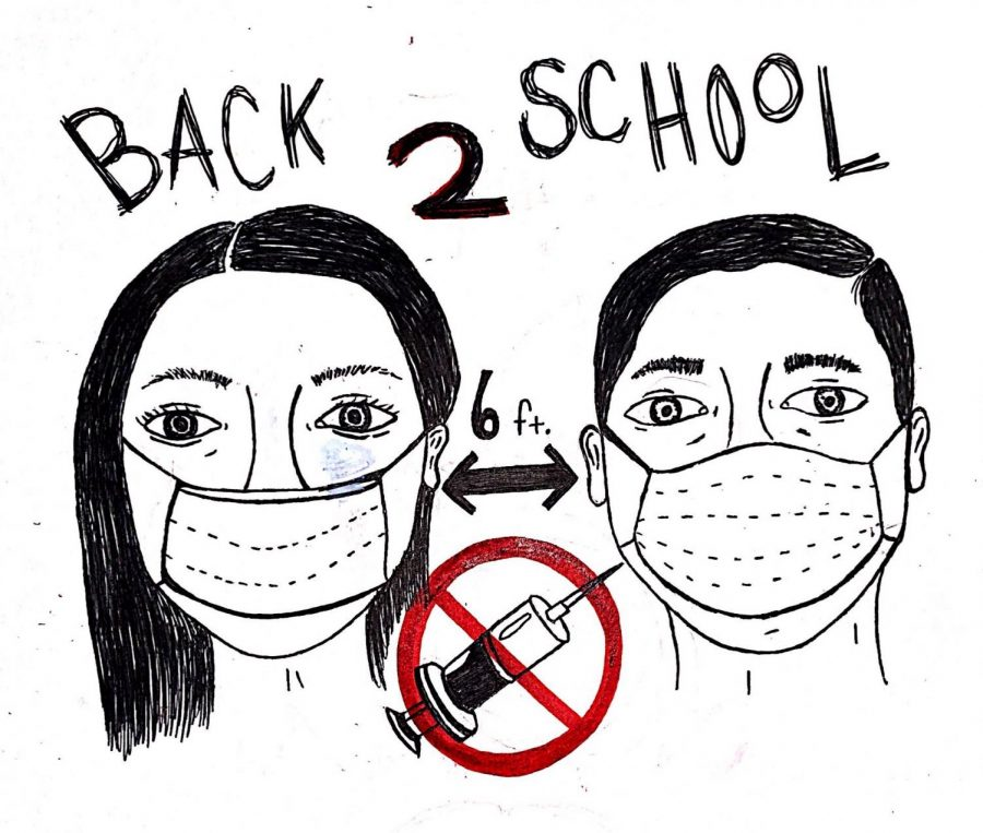 Is this enough? Will masks and distance keep students safe?