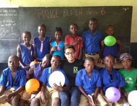 "THE START OF A PASSION- Seven years ago Heber Marquez volunteered to help teach impoverished kids in Sierra Leone. This experience changed his life forever. ""Ever since then I fell in love with helping people again,"" Heber said."