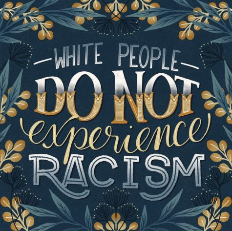 "WHITE PEOPLE DO NOT EXPERIENCE RACISM- Racism is not only hatred towards a race, it is an act of discrimination that mainly affects minorities. This discrimination can affect minorities mentally, socially, and even physically, ""The United States has a long legacy of racism that makes it difficult for people of color to receive quality health care, access affordable housing...,"" according to Philip Lewis in their article titled, ""What Is Reverse Racism""? Here"