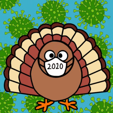 """A DIFFERENT THANKSGIVING- Due to the pandemic, people are celebrating Thanksgiving differently this year. Regardless of the changes, people have found things to be thankful for. """"Although this year has been really rough, I am thankful for still having everyone I care about alive and healthy,"""" Diego Flores, a junior, said."""