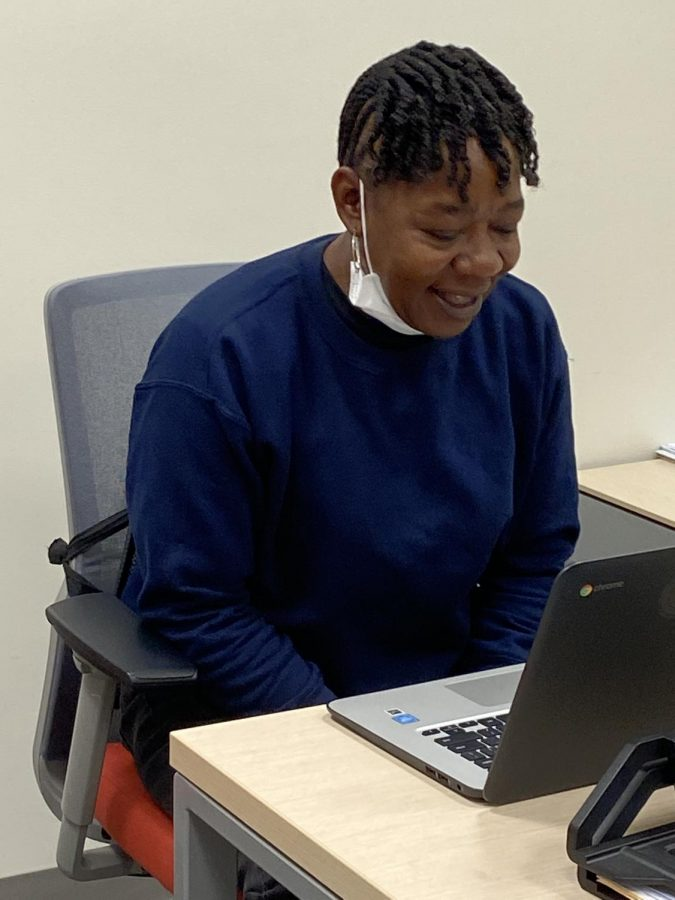 "BLACK HISTORY MONTH APPRECIATION - Pictured above is Ms. Shannon, assistant plant manager at MACES.  Black History Month reminds her of the ancestors who came before her, but most of all, it reminds her of her courageous and humble parents. ""Those are the influences in my life because they taught me to love, respect, know from right and wrong, and how to accomplish or get through different situations, the struggling situations...They always taught me to bounce back"" Ms. Shannon said."