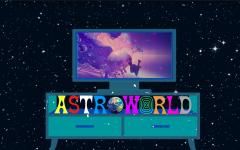 Travis Scott's Live Astronomical Fortnite Virtual Concert on April 23, 2020.