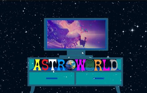 Travis Scott's Live Astronomical Fortnite Virtual Concert on April 23, 2020.