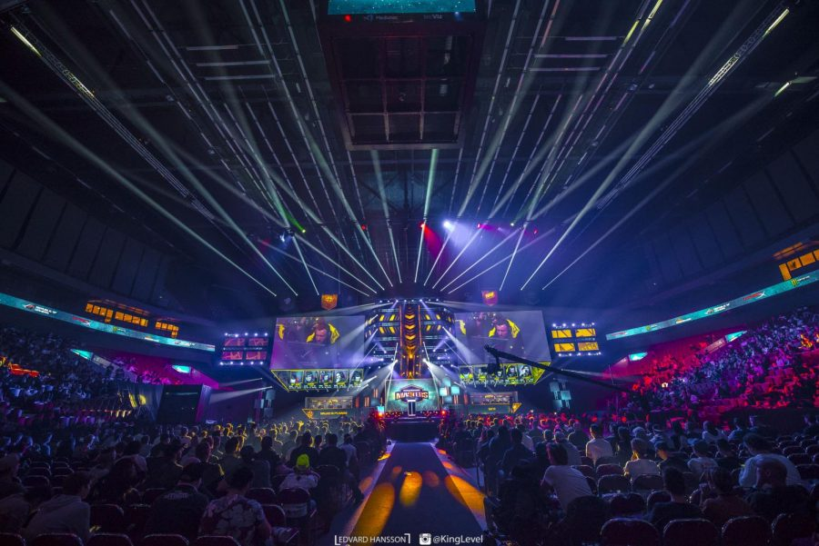 The esports crowd from Dreamhack Masters Malmö 2017