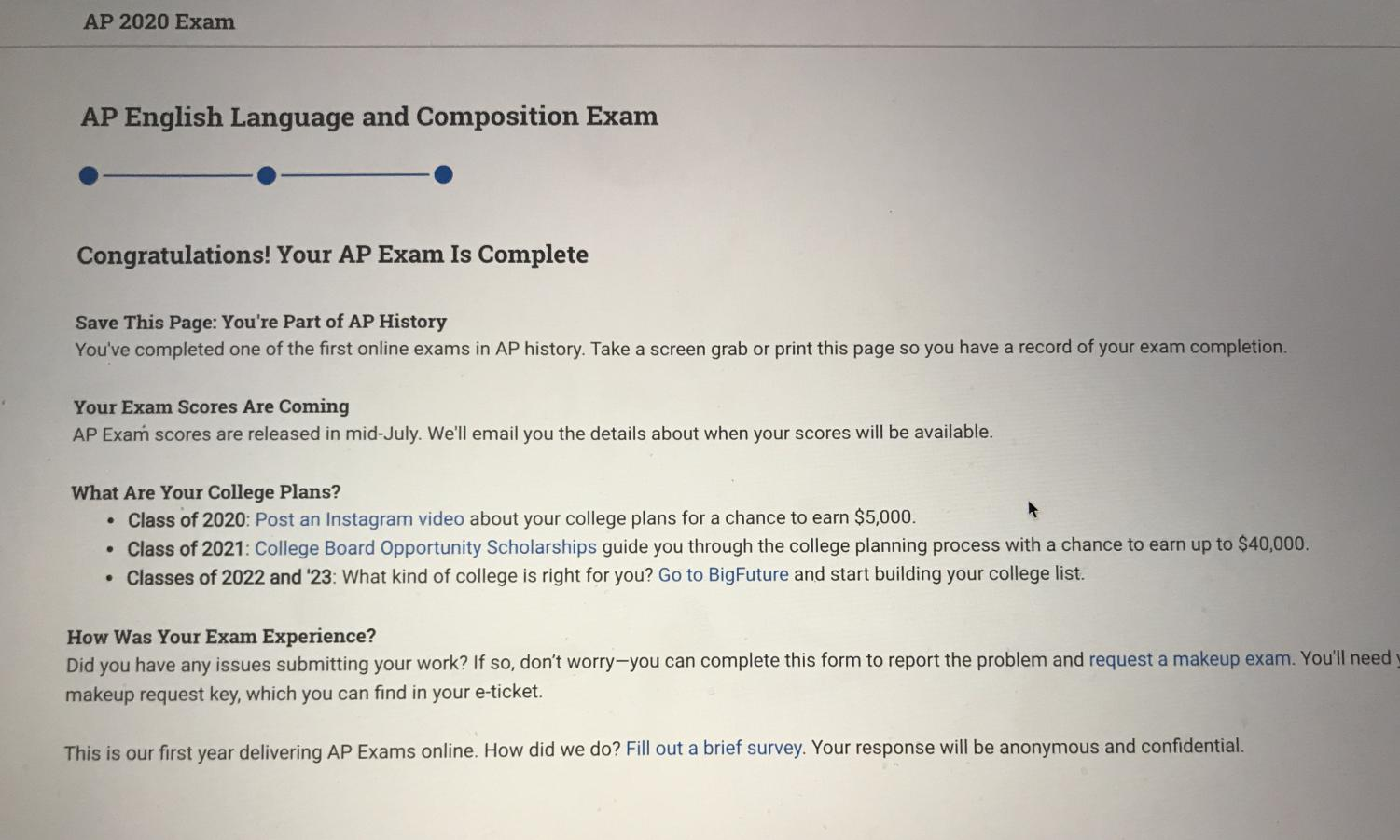 "The College Board, a multimillion-dollar ""not-for-profit"" organization geared toward connecting students to college success, has recently been sued with a $500 million federal court lawsuit for gross negligence. Over the past few months, the College Board has been met with an immense amount of backlash for administering online AP exams that most claim were not up to par with an international standard. ""I do believe that they could've waited more time and made sure that their system was working properly,"" Elizabeth Arroyo, a sophomore, said."