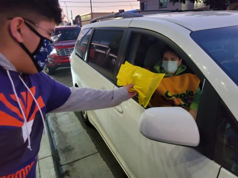 Leadership Hosts Halloween Drive-by- Due to the Corona virus, people weren