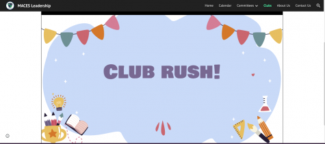 CLUB RUSH IS LIVE- Leadership officially launched the Club tab on November 9th which can be found on their website. This page includes a presentation where students can access information about the various clubs offered.