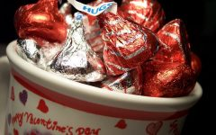 """A CUP OF KISSES- What will students do this Valentine's Day with limited choices? """" I will probably do what I always do on weekends which is catch up on homework, watch netlfix, and be with my family,"""" Mariana Gutierrez a freshman says."""