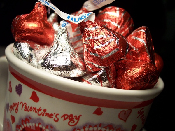 "A CUP OF KISSES- What will students do this Valentine's Day with limited choices? "" I will probably do what I always do on weekends which is catch up on homework, watch netlfix, and be with my family,"" Mariana Gutierrez a freshman says."