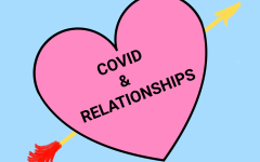 """A DIFFERENT KIND OF RELATIONSHIP-As the one year mark of living with Covid-19 comes near, Valentines Day is coming to pass. The question has to be asked, how have students and their relationships been affected by the pandemic? """"Normally a relationship is like hanging out with your close friend all the time. However now it's sanitizing your hands and keeping your distance ..."""" Victor Moreneo, a senior, said."""