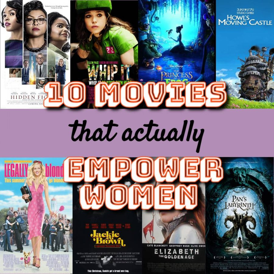 "MOVIE MOTIVATION  - March is Women's History Month, but with quarantine restrictions, it's best to celebrate from home. There are many movies about women that can not only inspire, but make one feel seen. ""Movies that feature strong women are important because they can inspire and motivate other women to pursue their dreams,"" Elissa Ramos, senior, said."